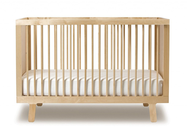 Best Baby Crib Design Modern Cushy White Mattress
