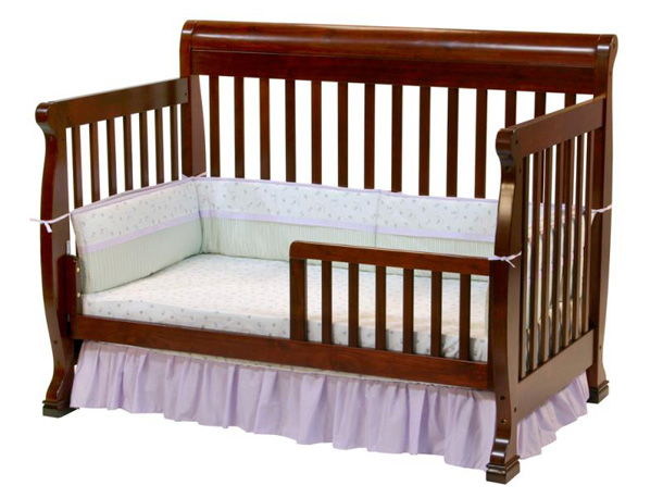 DaVinci M5501C - Da Vinci Kalani 4-in-1 Convertible Baby Crib in