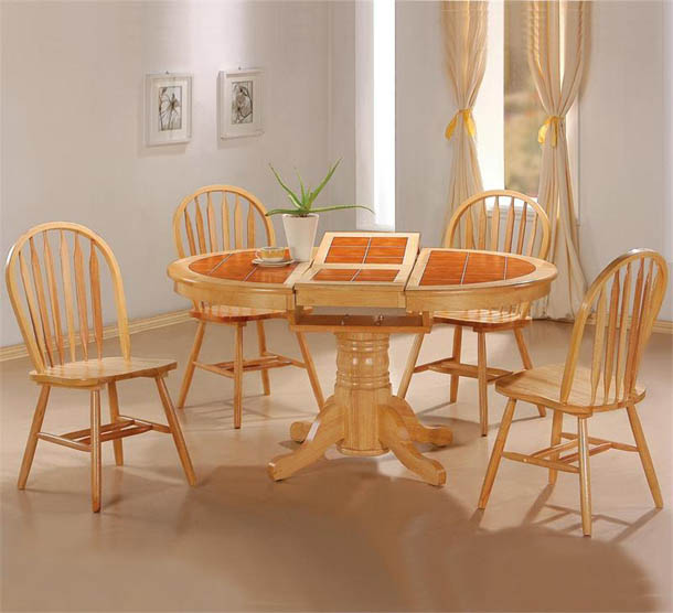 Colored Wood Kitchen Chairs
